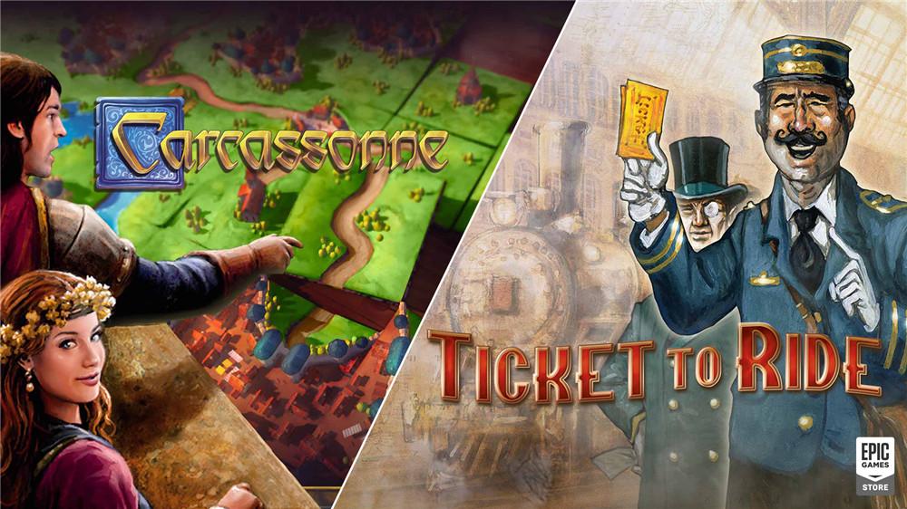 Epic免费领《卡卡颂》《车票之旅》