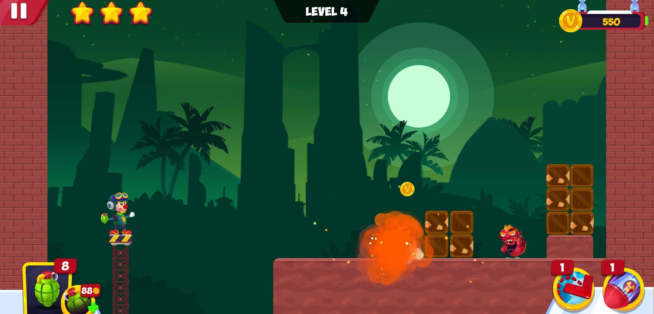 有趣的小游戏 轰炸绿化版