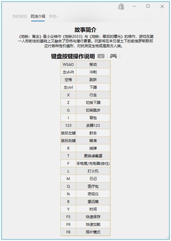 《地铁:逃离》游戏完整中文版