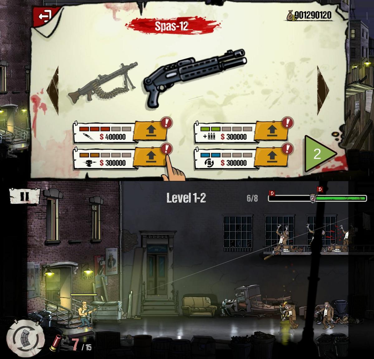 经典像素风射击游戏 僵尸射手,一款经典像素风格的动作冒险射击游戏