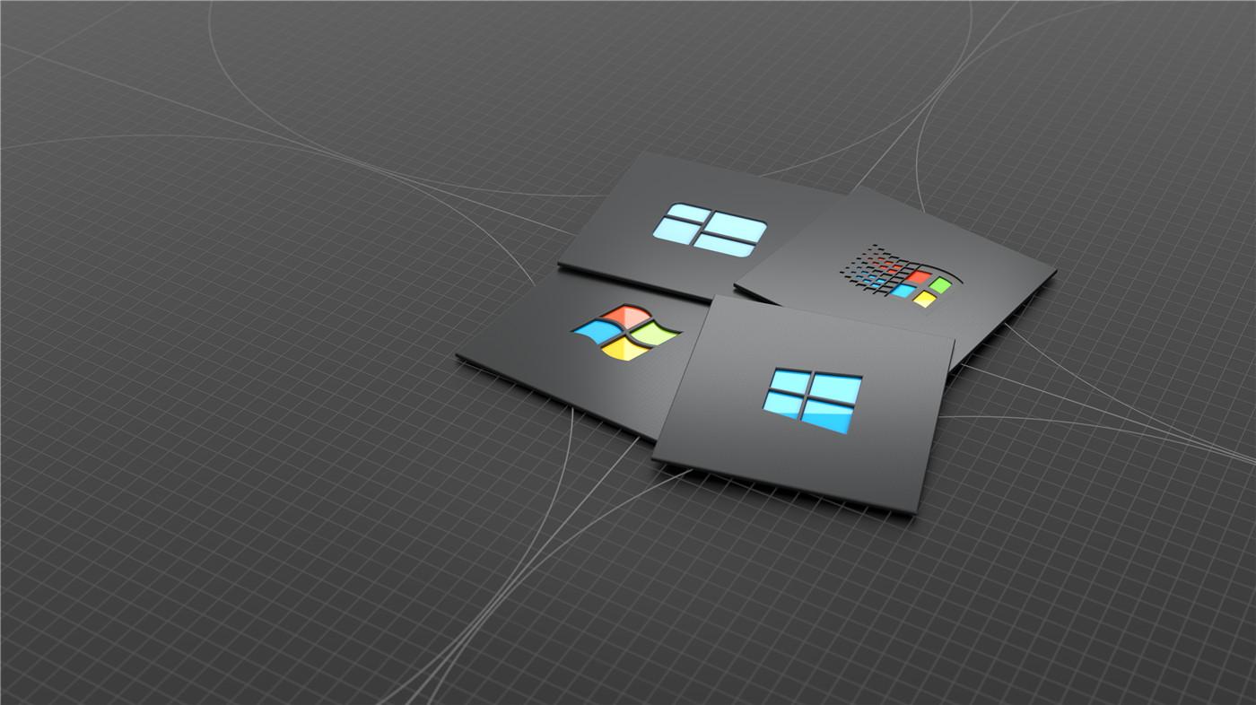 微软官方周年庆电脑壁纸2张
