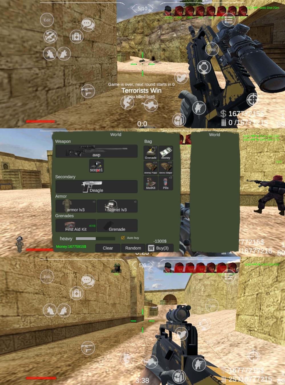 射击竞技游戏 野蛮打击