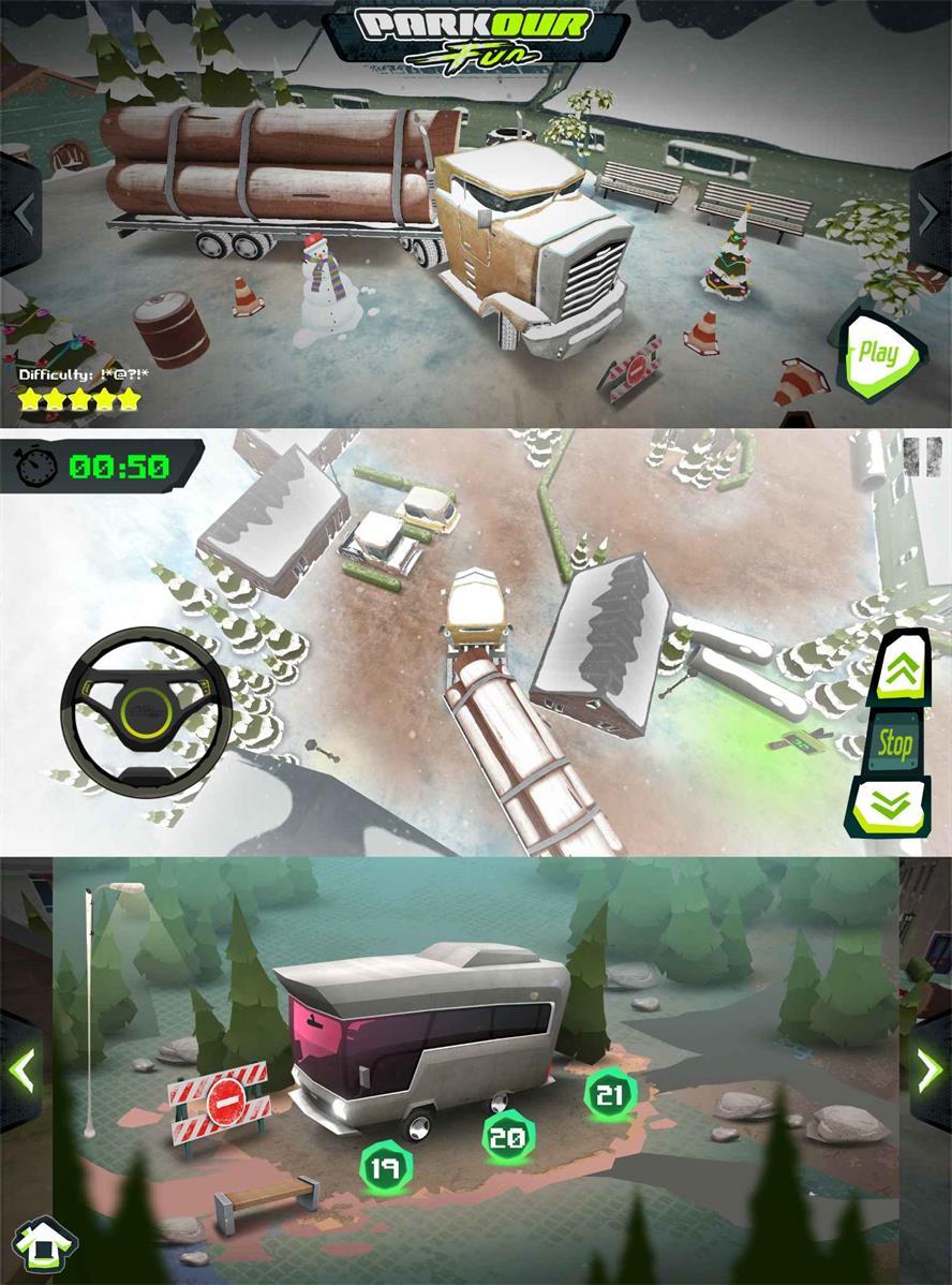 趣味模拟驾驶的游戏 停车乐趣