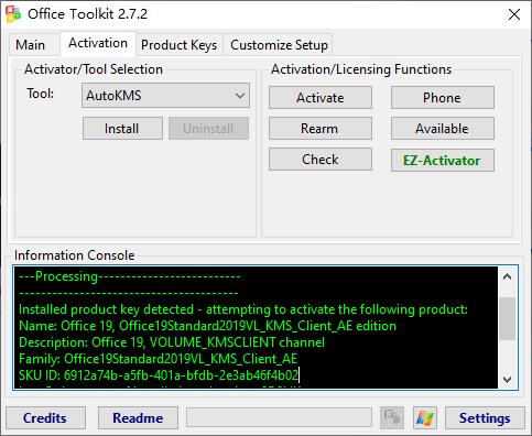 Microsoft Toolkit v2.7.2